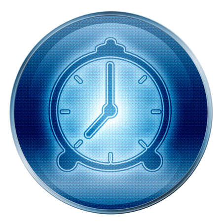 Clock icon. (With Clipping Path) Stock Photo - 997863