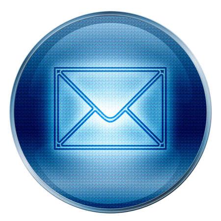 button postal envelope
