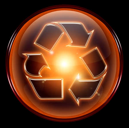 Recycling symbol icon. Stock Photo - 1007276