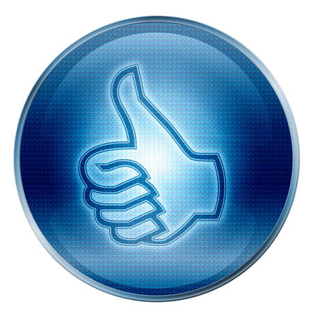 thumb up icon, approval Hand Gesture Stock Photo - 1172867