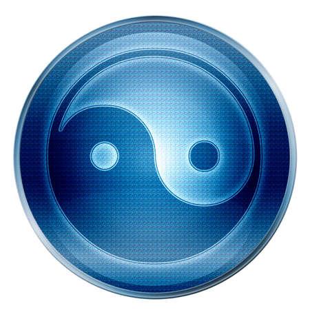 asanas: yin yang symbol icon.