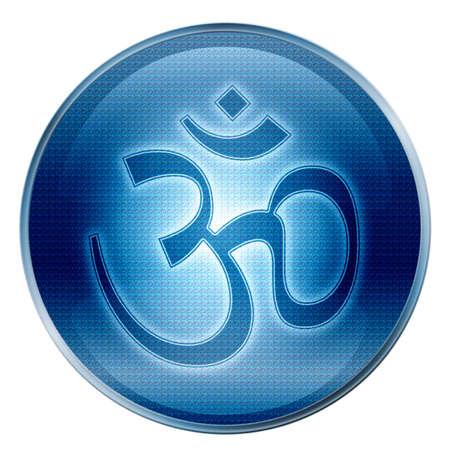 hippy: Om Symbol icon.