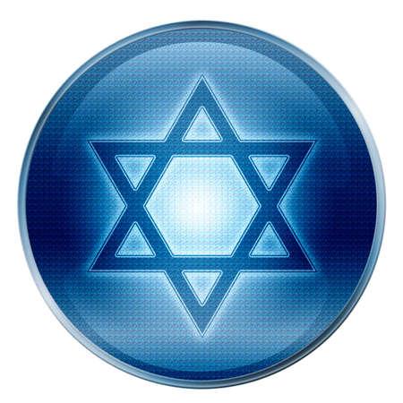 David star icon.  photo