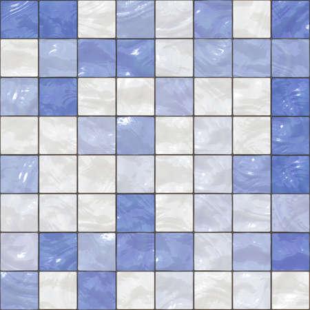 Ceramic tiles a mosaic photo
