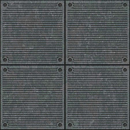 metal grid: Texture of metal plate.