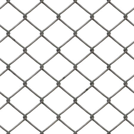 chained link: Rusty Chainlink