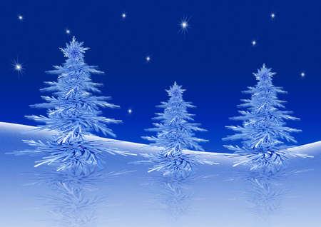 Christmas trees Stock Photo - 1761636
