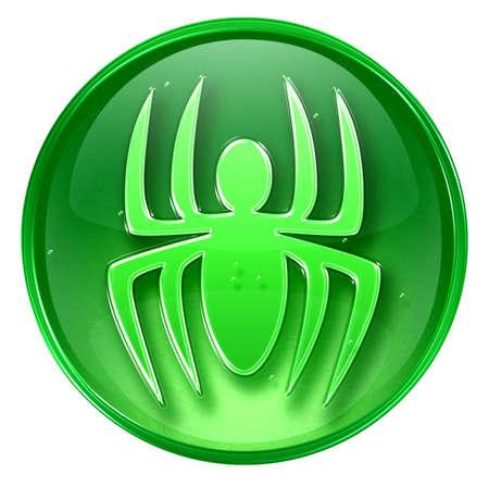 virus icon: Virus icon, isolated on white background.