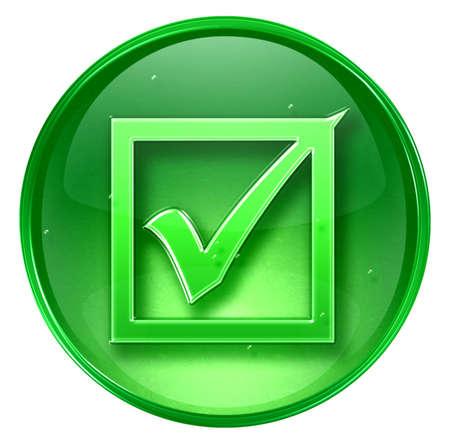 check icon: comprobar icono, aislados en fondo blanco.