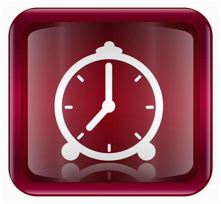 clock icon, isolated on white background Stock Photo - 2137923
