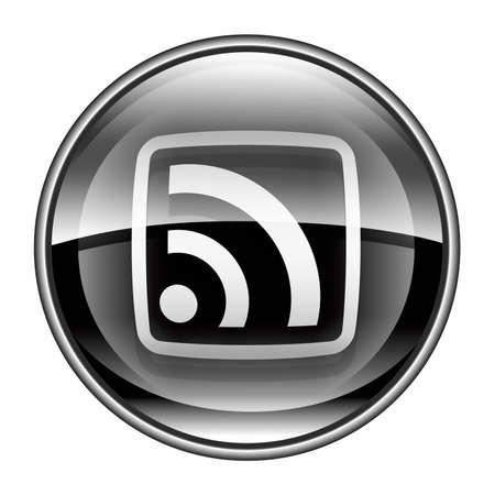 wep: WI-FI icon black, isolated on white background