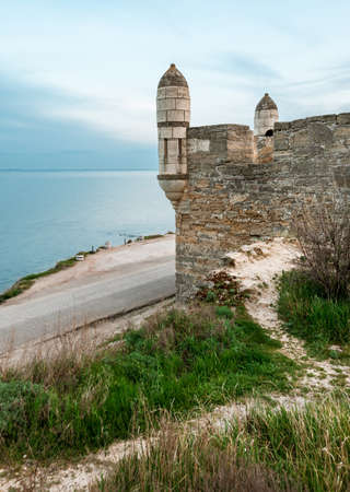 The fortress of Yeni-Kale, Russia, the Crimea, the city of Kerch