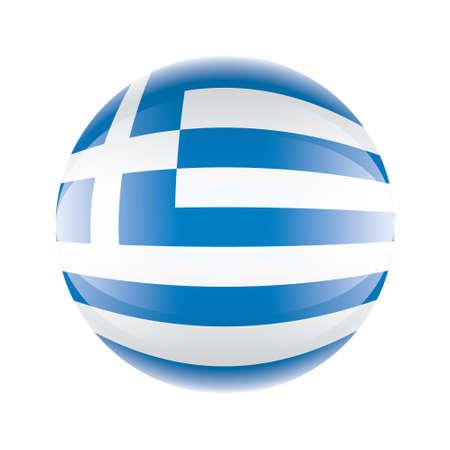 Greece flag icon Vector eps 10