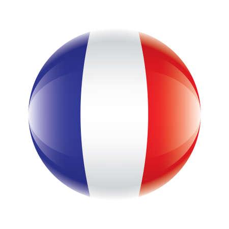 France flag icon Vector eps 10