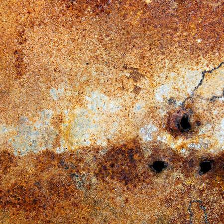 Rusty metal plate Reklamní fotografie
