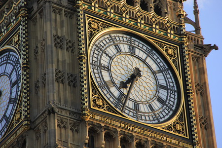 exact: The clock on the tower