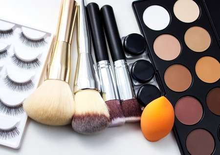Brushes And Makeup Sponge Similar Images Add To Likebox Photo
