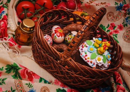 Easter foodEaster food. Preparation for Easter. Food for the Easter holiday.