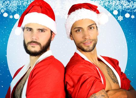 hombres gays: dos santa atractivo