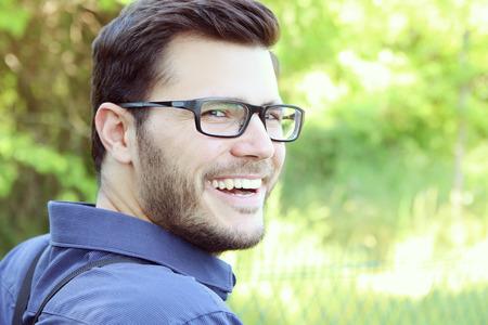 portrait of a smiling man Standard-Bild