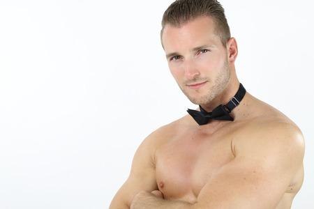 stripper: handsome stripper Stock Photo