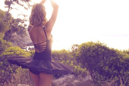 tutu: Ballet dancer