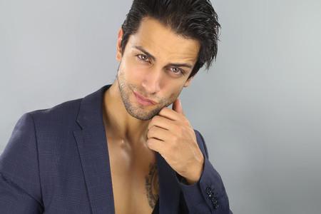 hombres guapos: Chico guapo Foto de archivo