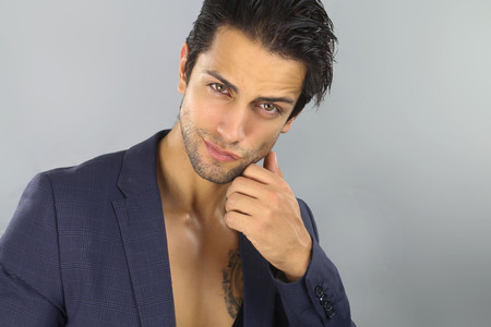 cute guy: Handsome guy