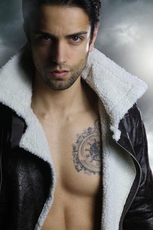 fictional: fictional character - handsome werewolf