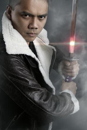 fictional character: Fictional character - modern samurai