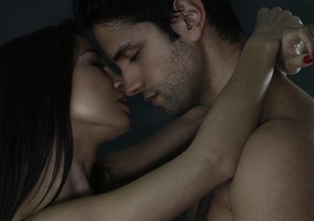 man and woman sex: Портрет влюбленная пара