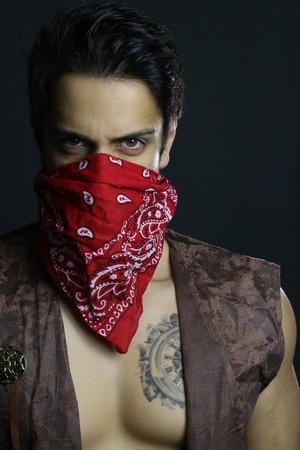 A sexy gangster Reklamní fotografie