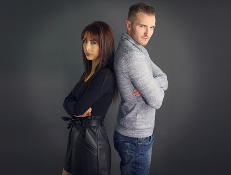 sulk: Couple Who sulks