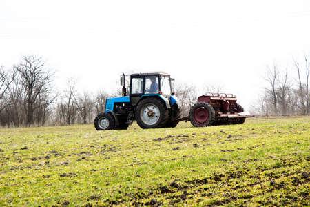 Spring feeding of winter wheat with fertilizer Ukraine