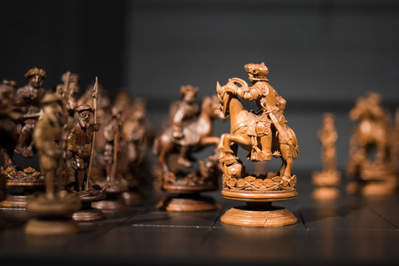 Old wonderful chess figures