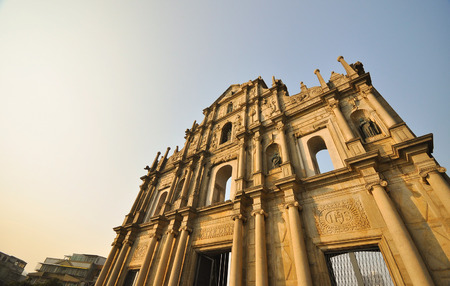 Ancient ruin at Macau