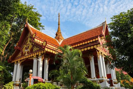 The Mummified Monk temple in Koh Samui, Thailand Imagens