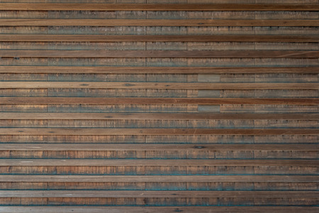 Wooden background made of horizontal and vertical wooden planks Imagens