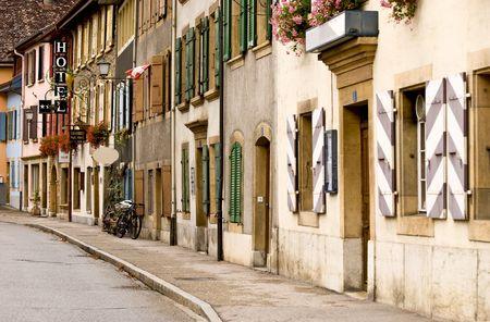 streetscene: Classic streetscene Stock Photo