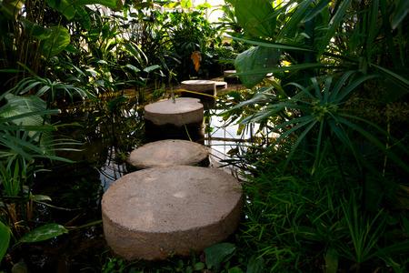 quagmire: Brick bridge into swamp