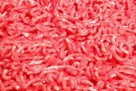 forcemeat: Crude forcemeat from beef