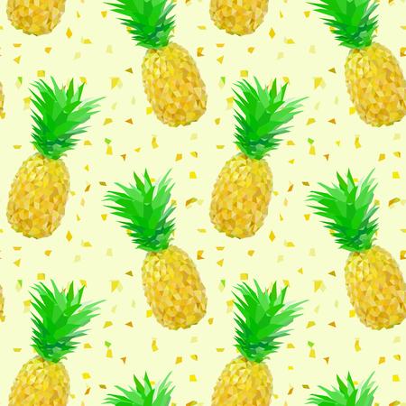 splinters: sparse low poly pineapple pattern with splinters