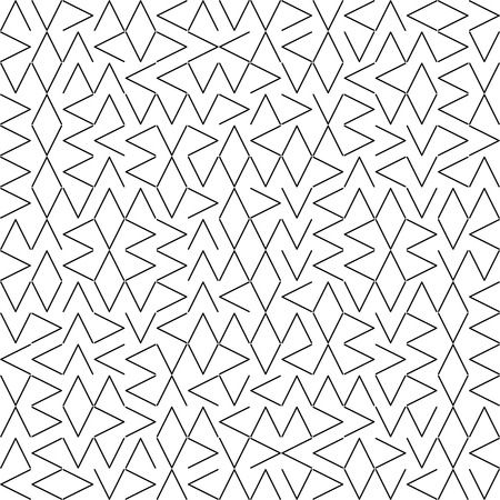 Vector Seamless Geometry Truchet Pattern 向量圖像