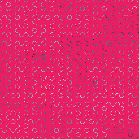 Geometric Foil Seamless Pattern Stockfoto