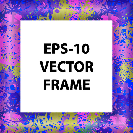 exposition: set of picture frames or to place text