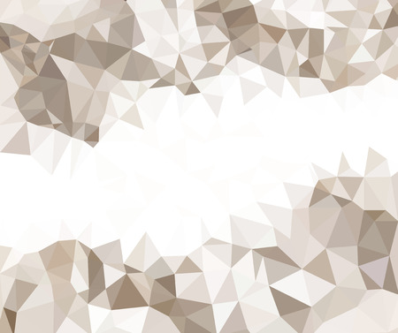 tonality: abstract background beige triangles arranged randomly varying tonality
