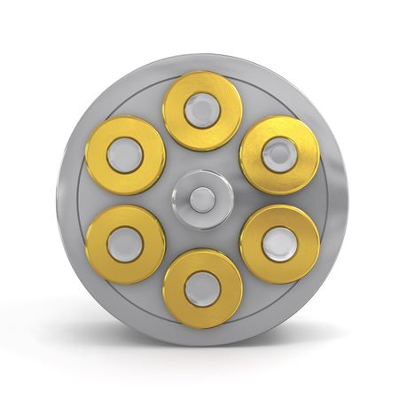 zylinder: Revolver-Zylinder