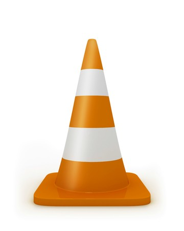 redirect: Road cone frontal