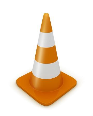 redirect: Road cone diagonal