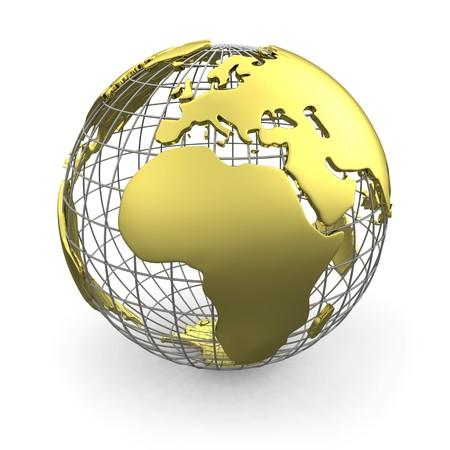 atlas: Golden globe, Europe